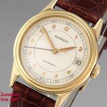 Movado 1881 - Automatik - 18K/750 Gelbgold - Leder -  - 52,9g -