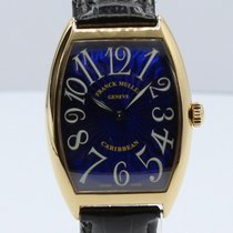 Franck Muller Yellow gold 33mm Automatic 6850 pre-owned