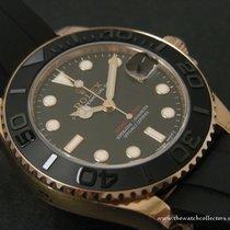 "Rolex Modern: Pink Gold Yachtmaster Oysterflex ""Ref.268655..."
