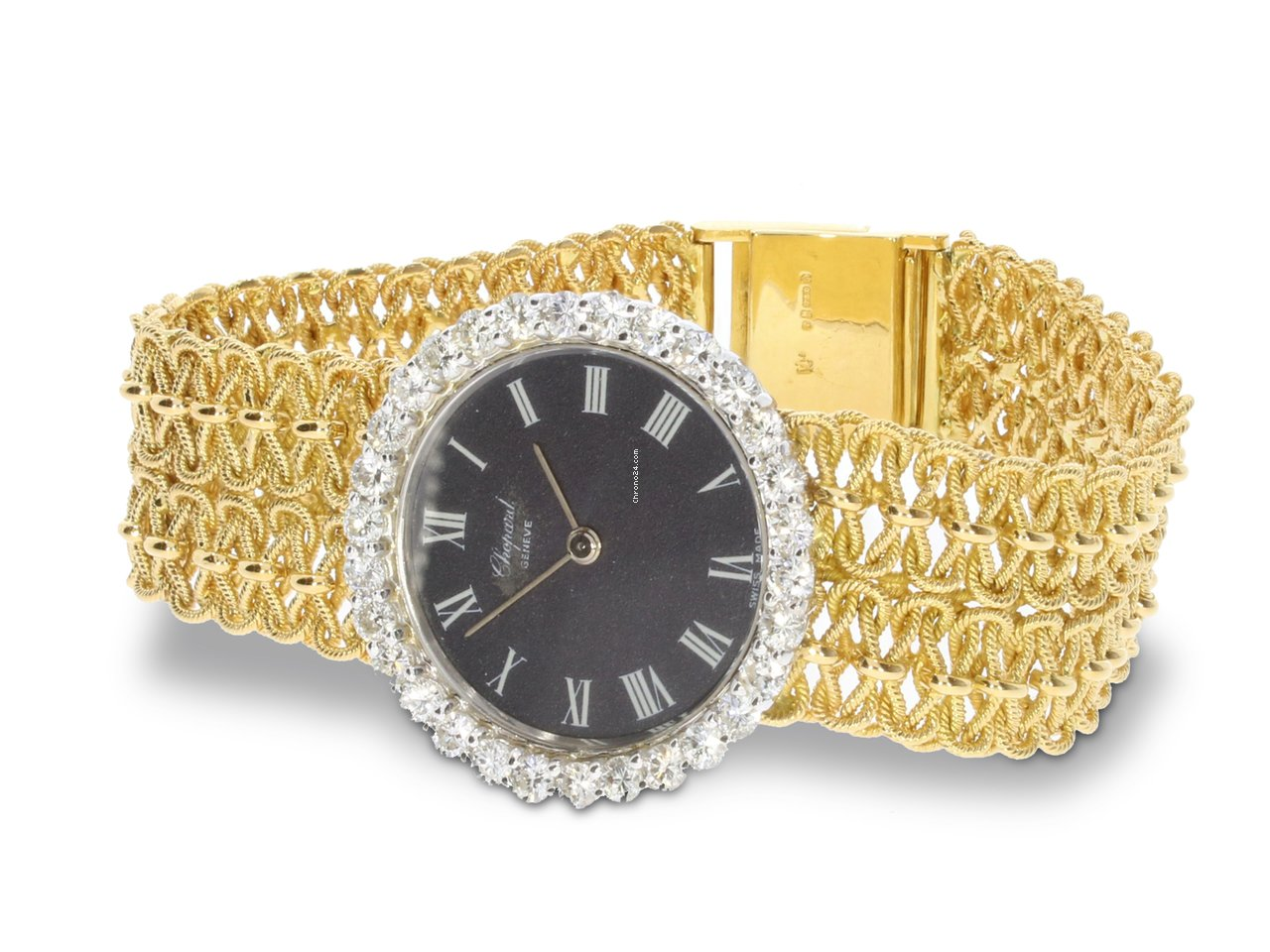 4263fbd624c38 Chopard Vintage Diamond & 18k Gold Unique Ladies Watch 1960s for $11,731  for sale from a Trusted Seller on Chrono24