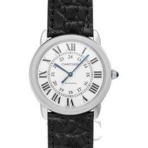 Cartier Ronde Croisière de Cartier neu Automatik Uhr mit Original-Box und Original-Papieren WSRN0013