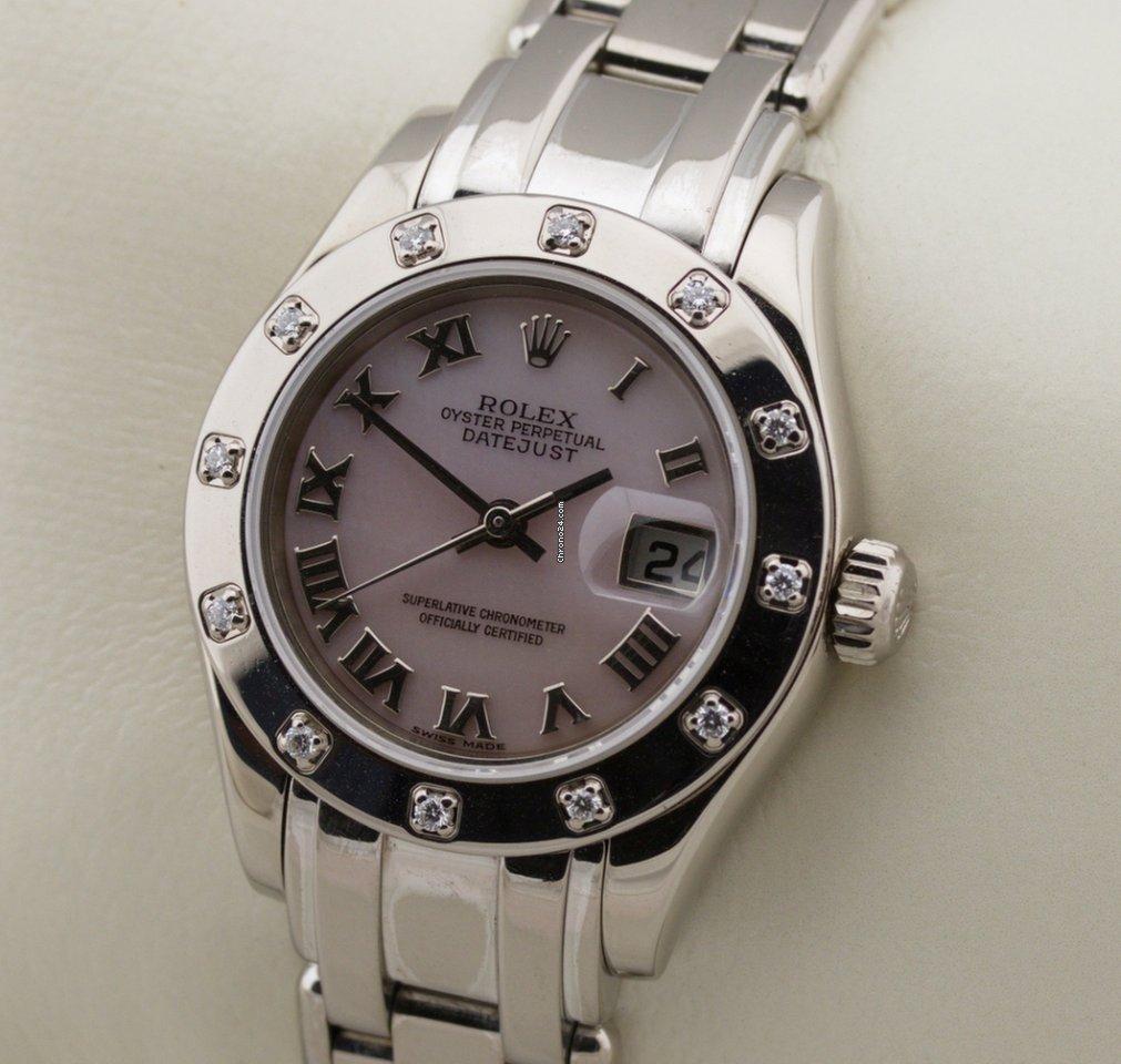 Rolex Lady-Datejust Pearlmaster 80319 2001 używany