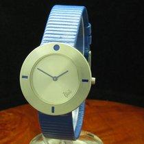 Bunz Design 950 Platin Damenuhr / Ref 8264