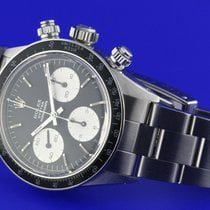 Rolex Daytona 6263 Black Sigma dial silver writing