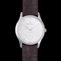Jaeger-LeCoultre Steel Automatic Silver 40.00mm new Master Grande Ultra Thin