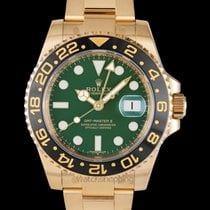 Rolex GMT-Master II Yellow gold 40mm Green United States of America, California, San Mateo