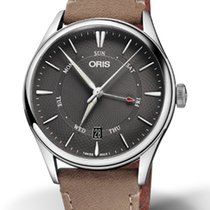 Oris Artelier Pointer Day Date Steel 40mm Black No numerals