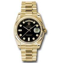 Rolex Day-Date 36 118238 bkdp new