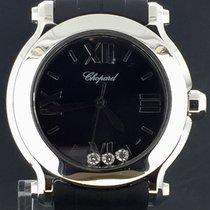 Chopard Happy Sport Steel 36MM Floating Diamonds, Quartz (MINT)