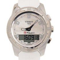 天梭  Touch Collection Titanium White Quartz T047.220.47.111.00