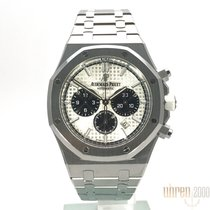 Audemars Piguet Chronograaf 41mm Automatisch 2018 tweedehands Royal Oak Chronograph Zilver