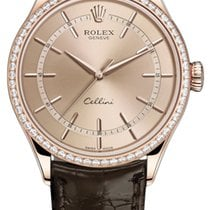 Rolex Cellini Time Rose gold 39mm Pink United States of America, New York, Airmont