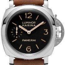 Panerai Luminor Marina 1950 3 Days Steel 47mm Black Arabic numerals