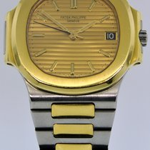 Patek Philippe Nautilus pre-owned 37.5mm Gold/Steel
