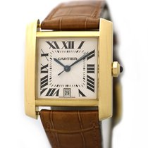 Cartier Tank Française Yellow gold 28mm White United States of America, Virginia, Vienna