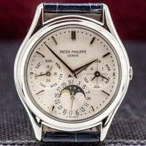 Patek Philippe Platinum Automatic 36mm pre-owned Perpetual Calendar