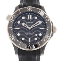 Omega Seamaster Diver 300 M new 2019 Automatic Watch with original box and original papers 210.92.44.20.01.001