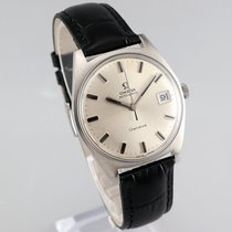 Omega Genève Steel 34.5mm Silver No numerals