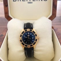 Breitling Lady J Yellow gold 31mm Black No numerals