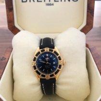 Breitling Lady J Gelbgold 31mm Schwarz Keine Ziffern