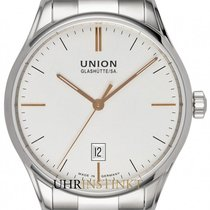 Union Glashütte Viro Date new 2020 Automatic Watch with original box and original papers D011.407.11.031.01