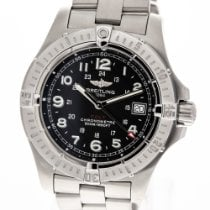 Breitling Steel 41mm Quartz A74380 pre-owned
