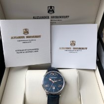 Alexander Shorokhoff Steel 40mm Automatic 062 new