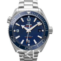 Omega Seamaster Planet Ocean Steel 43.5mm Blue