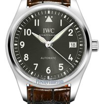 IWC Pilot's Watch Automatic 36 Steel 36mm Grey United States of America, New York, Airmont