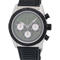 Tudor Fastrider Green Chrono Automatic Men's Watch – 42010N