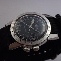 Glycine Rare Vintage Airman 24 Hours Watch 60's