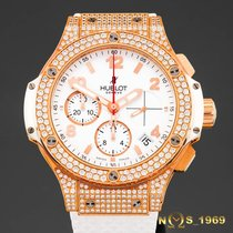Hublot Big Bang Porto Cervo 18K Rose Gold & Diamond Box...