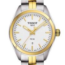 Tissot T1012102203100 PR100 Silver Dial Two-tone Ladies Watch