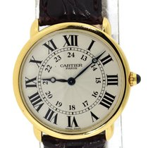 Cartier Yellow gold Manual winding 33.5mm pre-owned Ronde Louis Cartier