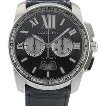 Cartier Calibre de Cartier Chronograph Steel 42mm Black United States of America, Georgia, Atlanta