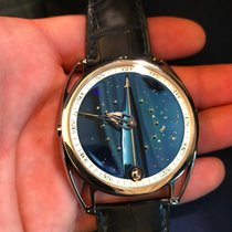 De Bethune new Manual winding Display Back Limited Edition 43mm Titanium Sapphire crystal