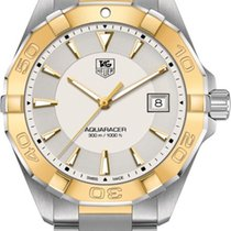 TAG Heuer Aquaracer 300M Gold/Steel 40.5mm Silver United States of America, Florida, Boca Raton