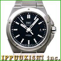 IWCポルシェデザイン ・中古・時計 (説明書付き、化粧箱入り)・40 x 43 mm・スチール