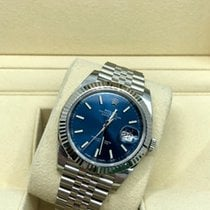 Rolex Datejust II Steel 40mm Blue No numerals