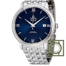 Omega De Ville Prestige Co-Axial 39.5 mm Blue Dial Steel Bracelet