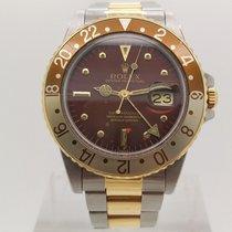Rolex 40mm Remontage automatique 1979 occasion GMT-Master Brun