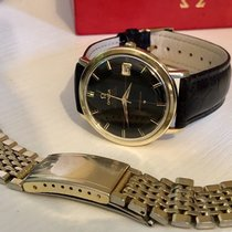 Omega Constellation Crosshair Black Dial men's vintage watch