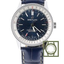 Breitling Navitimer 1 38 Automatic Stainless Steel Blue Croco...