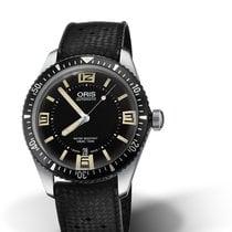 Oris 01 733 7707 4064-07 4 20 18 Steel Divers Sixty Five 40mm new