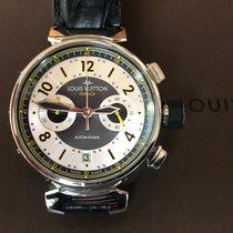 Louis Vuitton Acier 44mm Remontage automatique Q10280 occasion