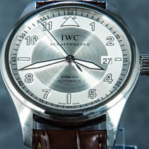 IWC Pilot Mark Stal 39mm Srebrny Arabskie