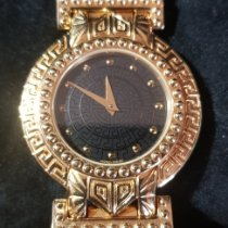 Versace Yellow gold 30mm 8008006 pre-owned United Kingdom, Frizington