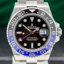 Rolex 116710BLNR Steel 2017 GMT-Master II 40mm pre-owned