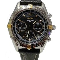 Breitling Chrono Cockpit pre-owned 36mm Black Steel