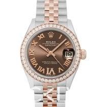 Rolex Lady-Datejust nieuw Automatisch Horloge met originele doos en originele papieren 278381rbr-0030